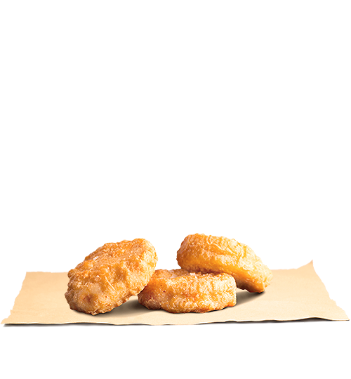 BK Chicken Nuggets X 3 King Jr Meal