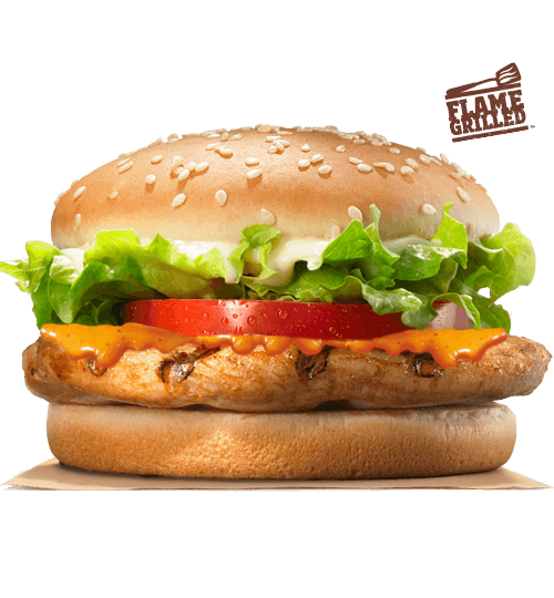 Peri Peri TENDERGRILL® Chicken Burger | Burger King Fiji