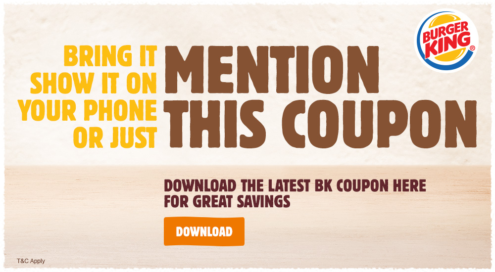 offers coupon downloads at burger king new zealand