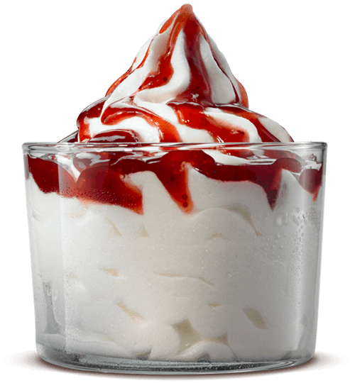 Bk Strawberry Sundae Burger King 174